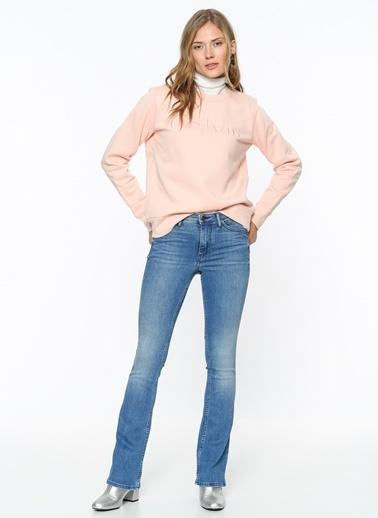 Calvin Klein Jean Pantolon | Slim Boot Cut Mavi